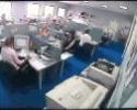 Mand på kontor