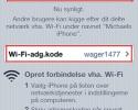 Brug din iPhone som access point