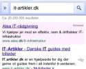 Ændre standard søgemaskine på iPhone