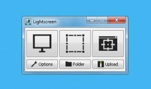 Lightscreen brugerflade