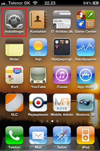 Find mac adressen på din iphone | IT-Artikler.dk