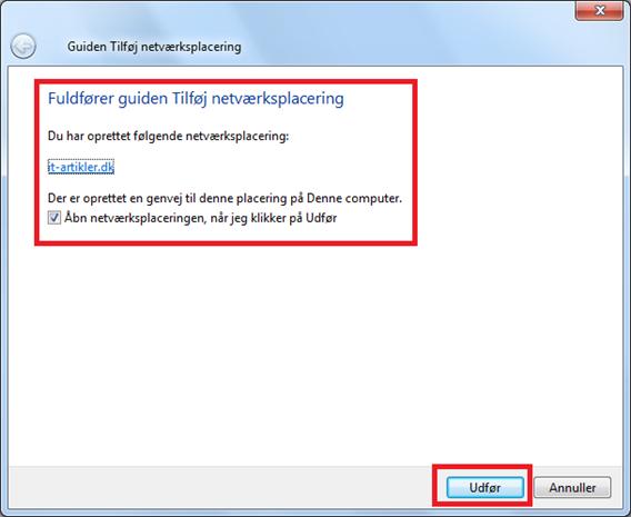 FTP adgang fra Windows | IT-Artikler.dk