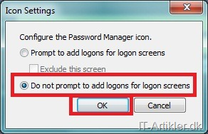 Fjer HP Password Manager