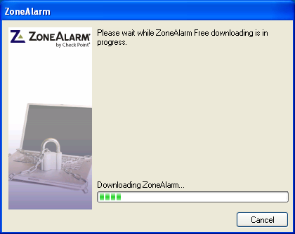 zonealarm installation