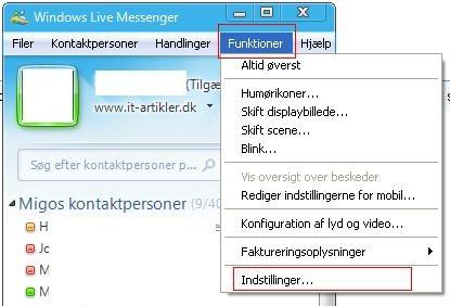 Sådan sender du filer i Messenger 2009 | IT-Artikler dk